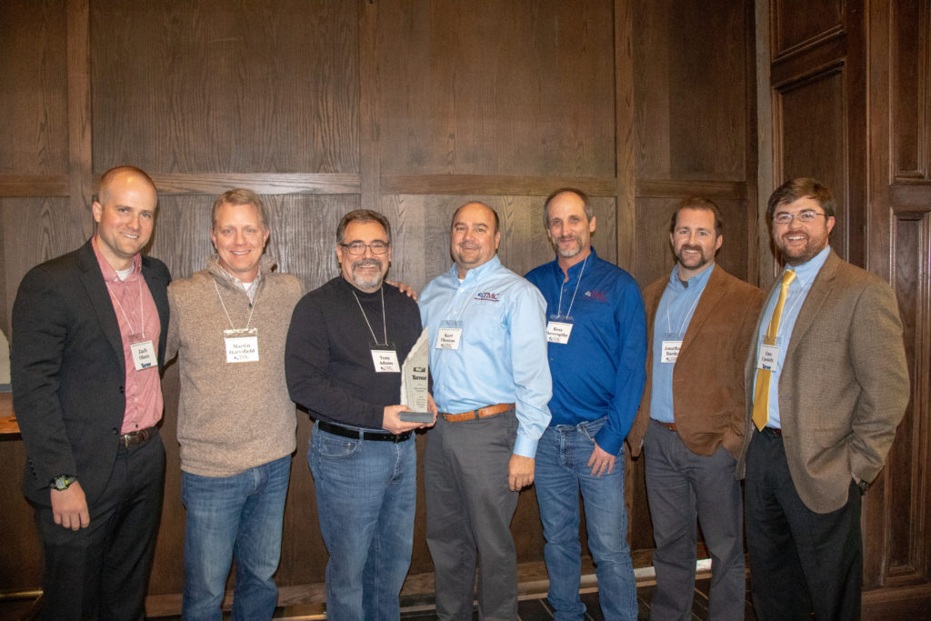 Tebarco Recognized as Subcontractor of the Year by Turner Construction